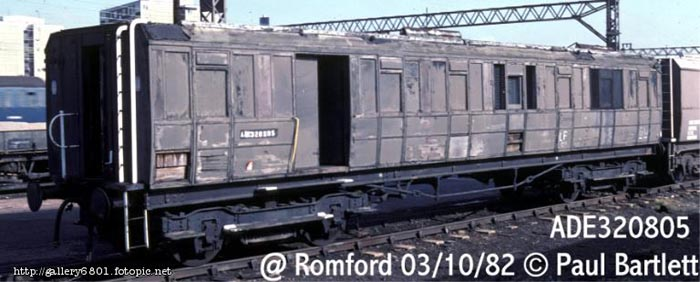 Photo of 320805 at Romford OHLM depot