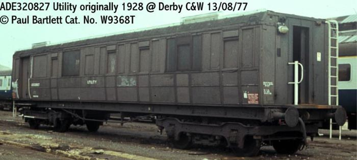 Photo of 320827 at Derby Carriage & Wagon works