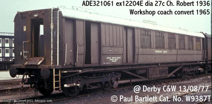 Photo of 321061 at Derby Carriage & Wagon works