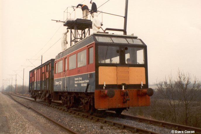 Photo of RDB 998901 at Widmerpool Straight - Old Dalby Test Track