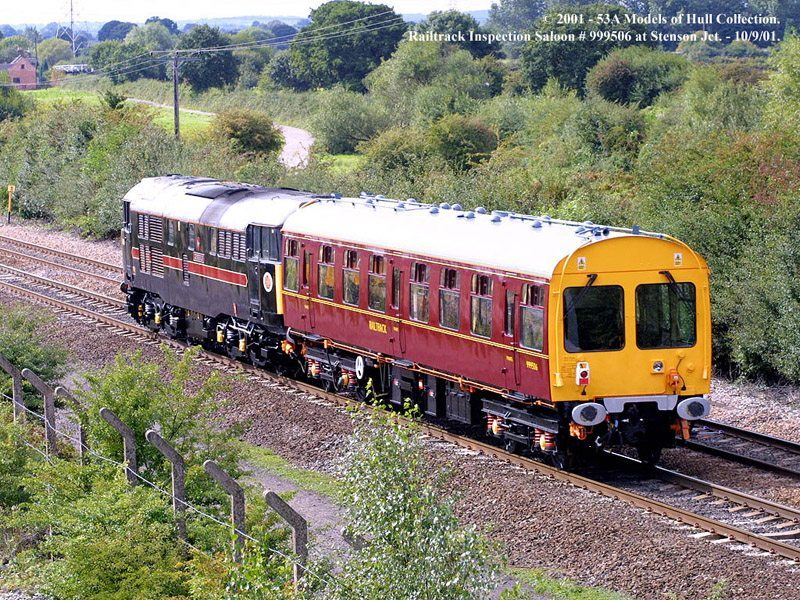 Photo of 999506 at Stenson Junction