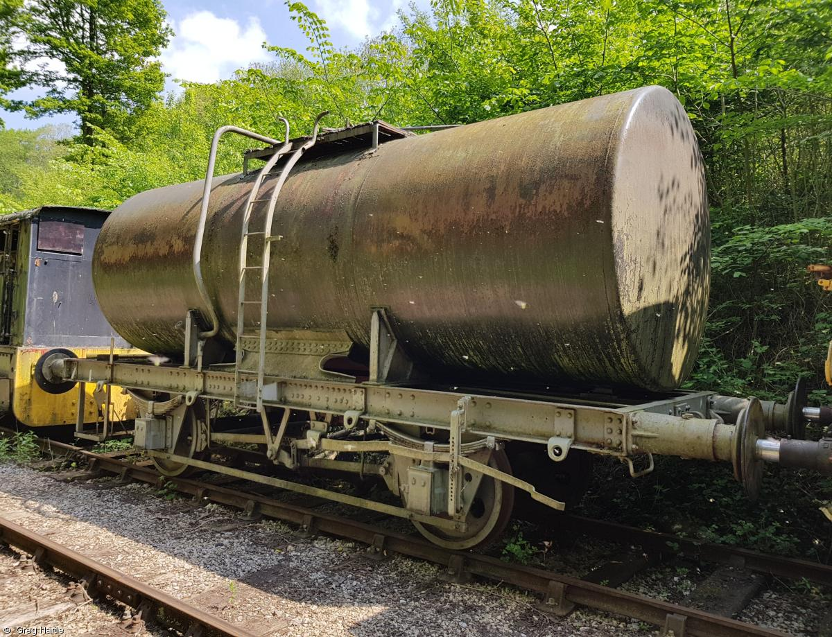 Photo of 024327 at Wirksworth shed, Ecclesbourne Valley Railway