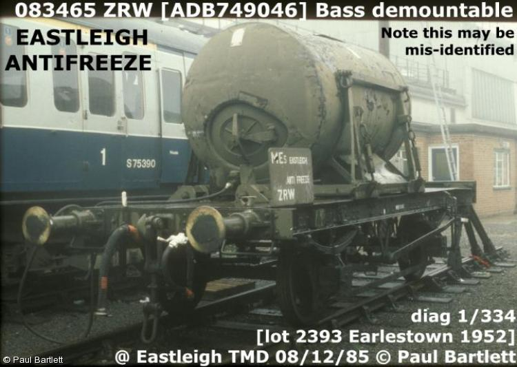 Photo of 083465 at Eastleigh TMD