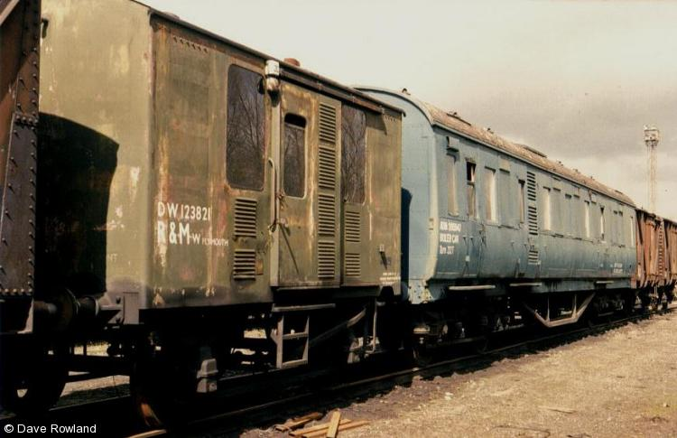 Photo of ADW123821 & 395947 at Millerhill yard