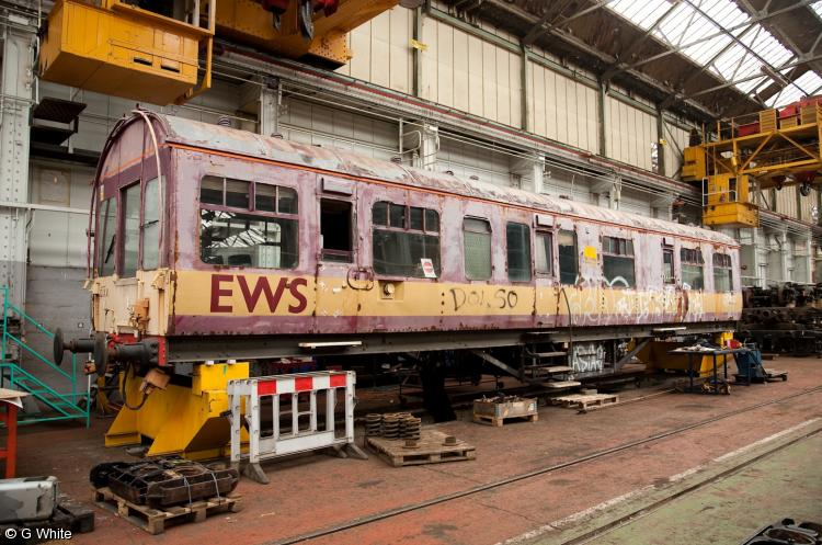 Photo of 45029 at Eastleigh Works
