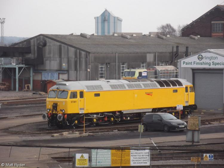 Photo of 57301  at Eastleigh Works