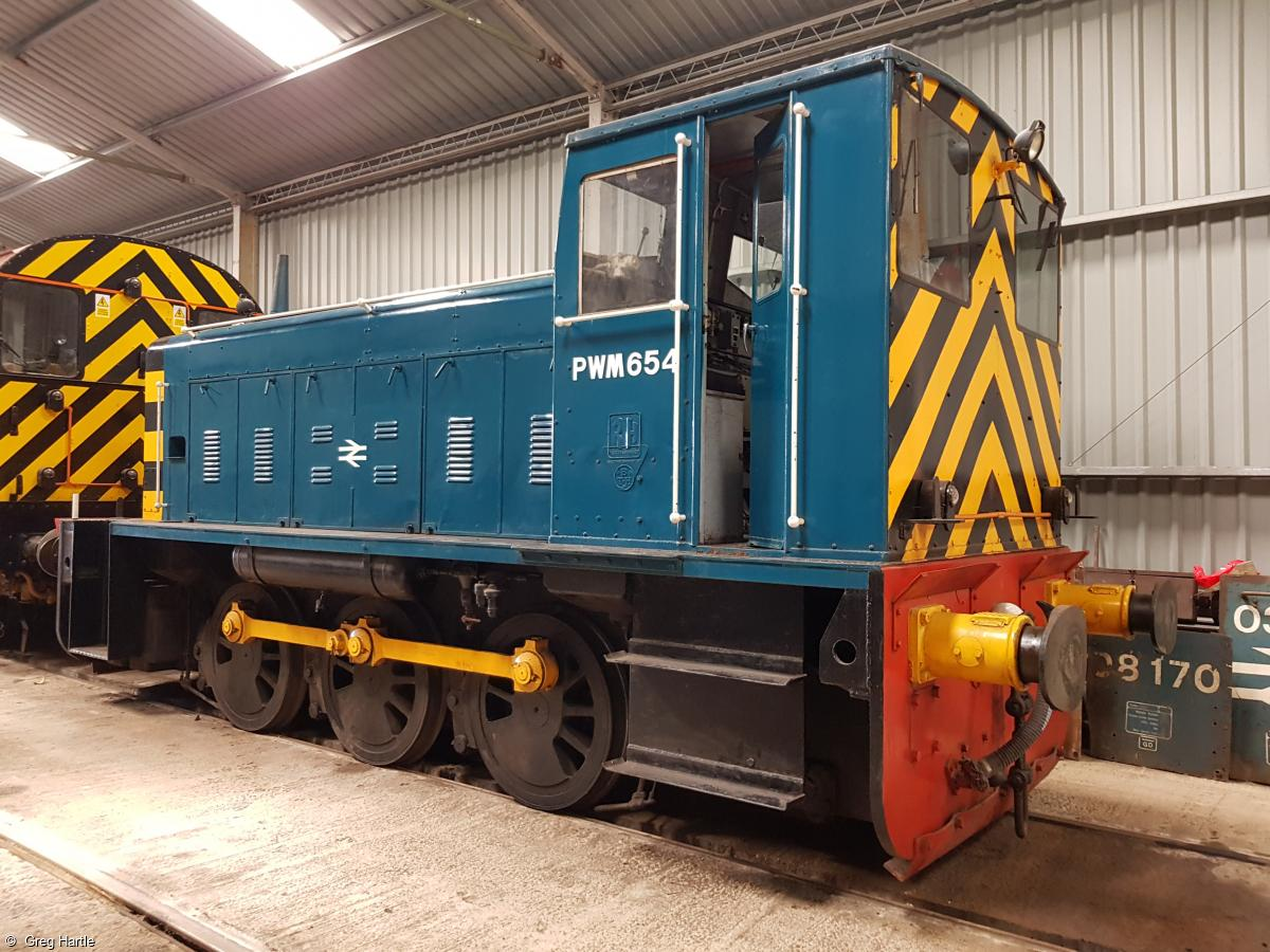 Photo of 97654 at Peak Rail, Rowsley