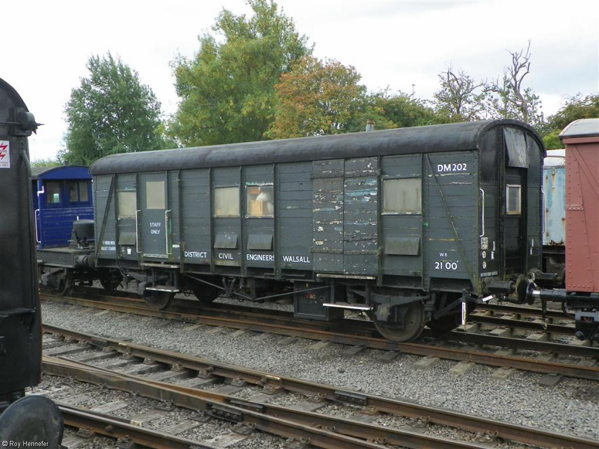 Photo of DS169 at Chasewater Railway