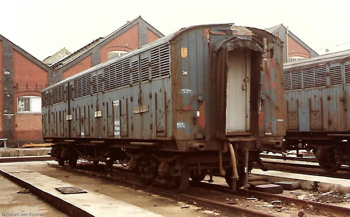 Photo of CDB 975834 at Swindon Works