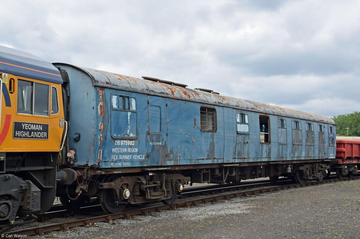 Photo of DB 975982 at Eastleigh Works